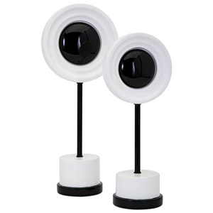 IMAX Worldwide Home Connie Post Concepts Eclipse Statuaries - Set of 2