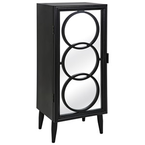 IMAX Worldwide Home Connie Post Concepts Eclipse Mirror Cabinet