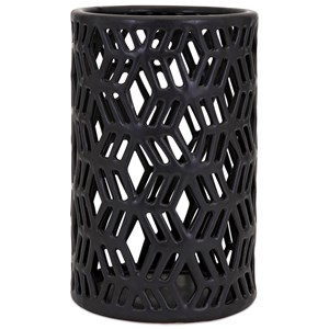 IMAX Worldwide Home Connie Post Concepts Eclipse Large Cutwork Lantern
