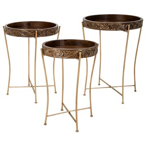 Eden Tray Tables - Set of 3