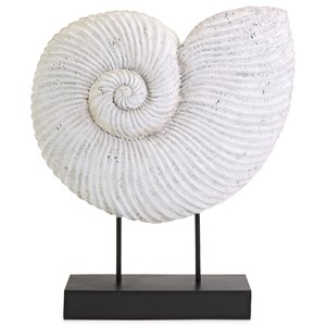 IMAX Worldwide Home Decorative Figurines Ramsey Sea Shell on Stand