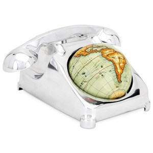 IMAX Worldwide Home Decorative Figurines MaBell Telephone Globe