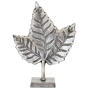 IMAX Worldwide Home Decorative Figurines Keeley Short Leaf on Stand