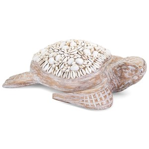 IMAX Worldwide Home Decorative Figurines Hydra Mosaic Shell Turtle