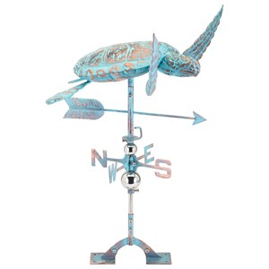 IMAX Worldwide Home Decorative Figurines Elliot Tortoise Weathervane