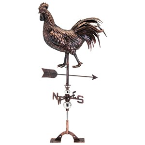 IMAX Worldwide Home Decorative Figurines Ethal Rooster Weathervane