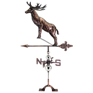 IMAX Worldwide Home Decorative Figurines Ashton Deer Weathervane