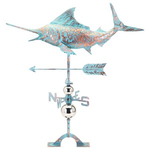 IMAX Worldwide Home Decorative Figurines Stuart Sword Fish Weathervane