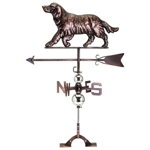 IMAX Worldwide Home Decorative Figurines Emma Retriever Weathervane