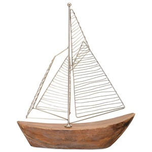 IMAX Worldwide Home Decorative Figurines Zahra Sailboat