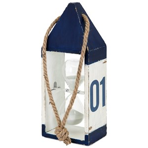 IMAX Worldwide Home Decorative Figurines Nautical Hourglass