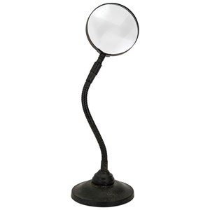 IMAX Worldwide Home Decorative Figurines Lester Desk Magnifying Glass