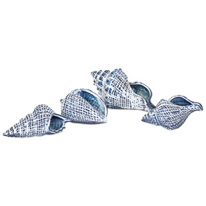 IMAX Worldwide Home Decorative Figurines Shirver Shells - Set of 4