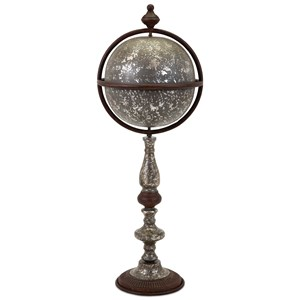 IMAX Worldwide Home Decorative Figurines Galia Floor Globe