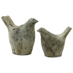 IMAX Worldwide Home Decorative Figurines Julia Doves - Set of 2