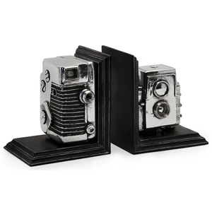 IMAX Worldwide Home Decorative Figurines Vintage Camera Bookends
