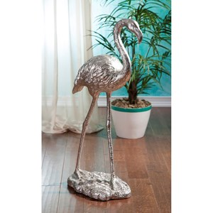 IMAX Worldwide Home Decorative Figurines Estevan Flamingo Statuary