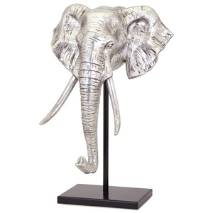 IMAX Worldwide Home Decorative Figurines Raja Elephant Sculpture