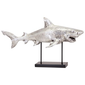 IMAX Worldwide Home Decorative Figurines Shark-Alley Sculpture