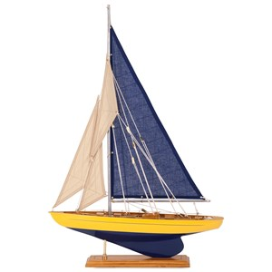 IMAX Worldwide Home Decorative Figurines Sea Coast Sailboat