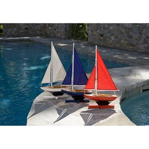 IMAX Worldwide Home Decorative Figurines Forza Sailing Fleet - Set of 3