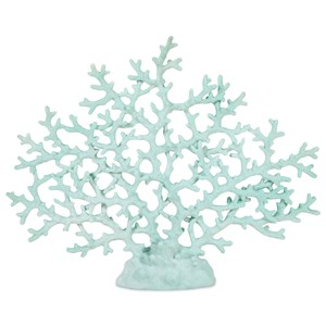 IMAX Worldwide Home Decorative Figurines Haines Teal Coral