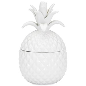 IMAX Worldwide Home Decorative Figurines Bala Lidded Pineapple