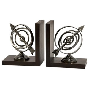 IMAX Worldwide Home Decorative Figurines Calisto Armillary Bookends