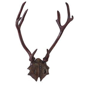 IMAX Worldwide Home Decorative Figurines Marshall Aluminum Antlers
