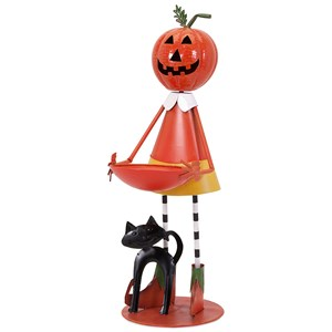 IMAX Worldwide Home Decorative Figurines Piper Pumpkin Girl