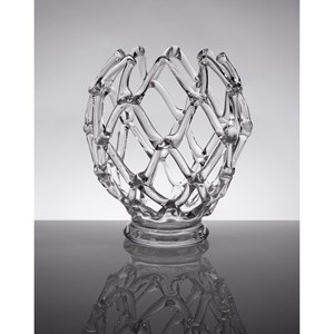 IMAX Worldwide Home Decorative Figurines Glass Web Sculpture