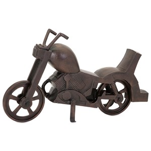 IMAX Worldwide Home Decorative Figurines Hobie Aluminum Motorcycle