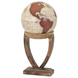 IMAX Worldwide Home Decorative Figurines Merrin Large Globe