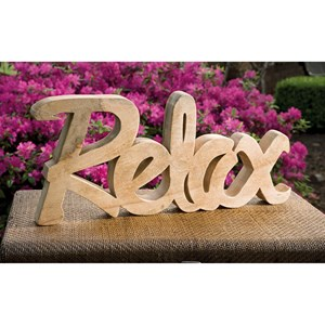 IMAX Worldwide Home Decorative Figurines Relax Mango Wood Decor