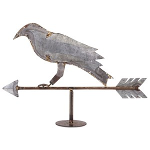 IMAX Worldwide Home Decorative Figurines Crow Weathervane