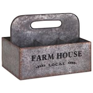 IMAX Worldwide Home Decorative Figurines Farm Living Caddy