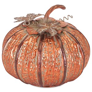 Easton Small Copper Finish Pumpkin