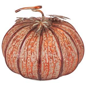 Easton Medium Copper Finish Pumpkin