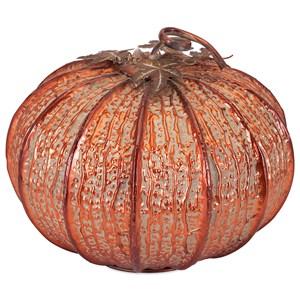 Easton Large Copper Finish Pumpkin