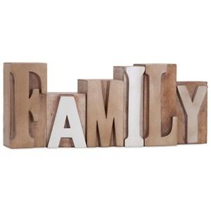 Letterpress Word - Family