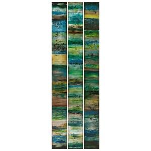 Aubree Blue Panels - Ast 3