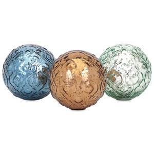 Katrina Glass Spheres - Ast 3