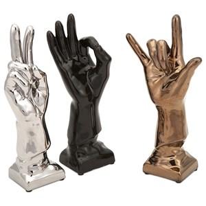 Cohen Ceramic Hands - Ast 3