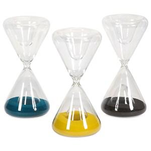 Lagos Glass Hourglasses - Ast 3