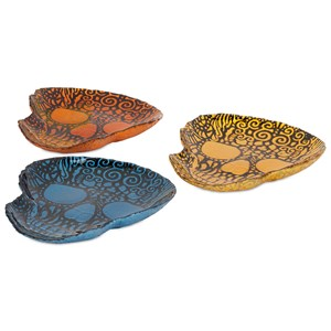 Merida Glass Dishes - Ast 3