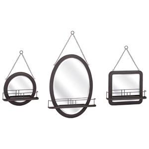 IMAX Worldwide Home Ella Elaine Shaving Mirrors - Set of 3