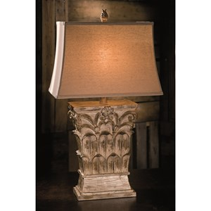 IMAX Worldwide Home Lighting Carrera Oversized Table Lamp