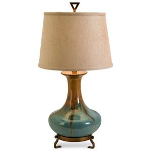 IMAX Worldwide Home Lighting Kirkly Ceramic Table Lamp