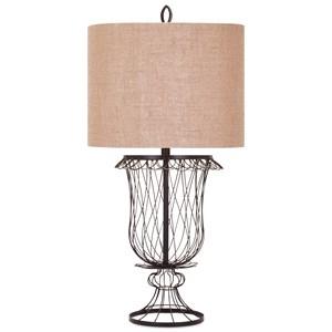 IMAX Worldwide Home Lighting Erika Wire Urn Lamp