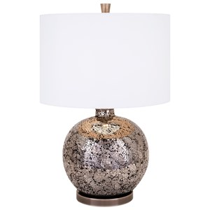 IMAX Worldwide Home Lighting Vista Mosaic Glass Table Lamp